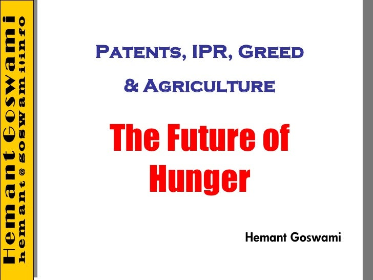 Future of Hunger