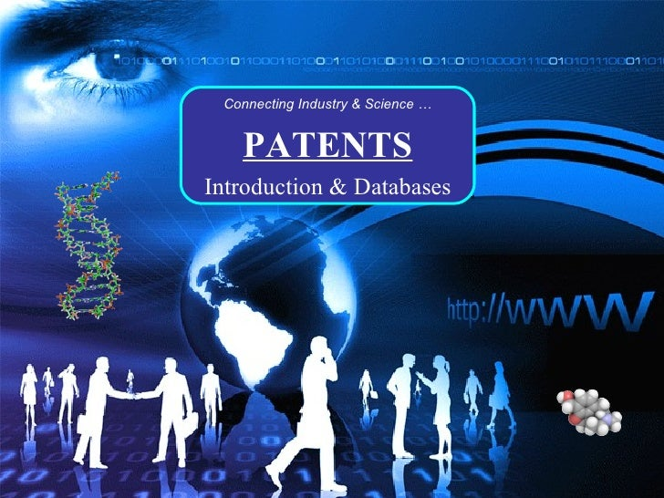 Patents - Introduction & Free Database And Sources