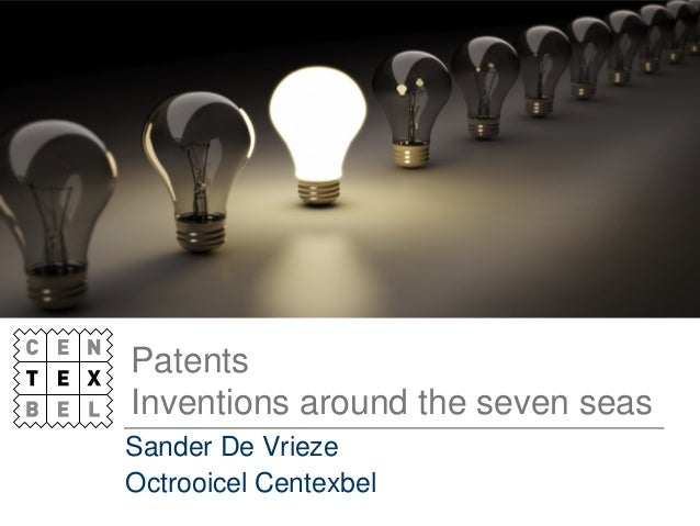 Patents and the seven seas