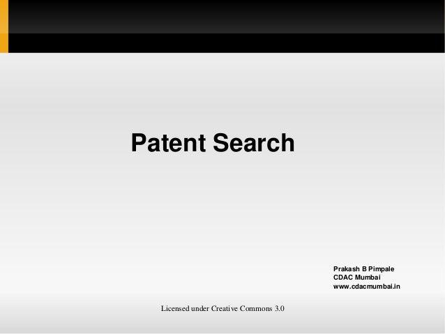 PatentSearch                                               PrakashBPimpale                                        ...