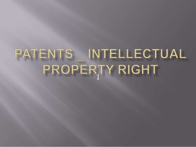 Patent Law in India_What,How to get it regisgtered and protected