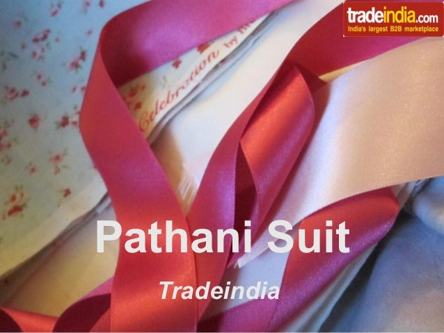 Pathani Suit Tradeindia