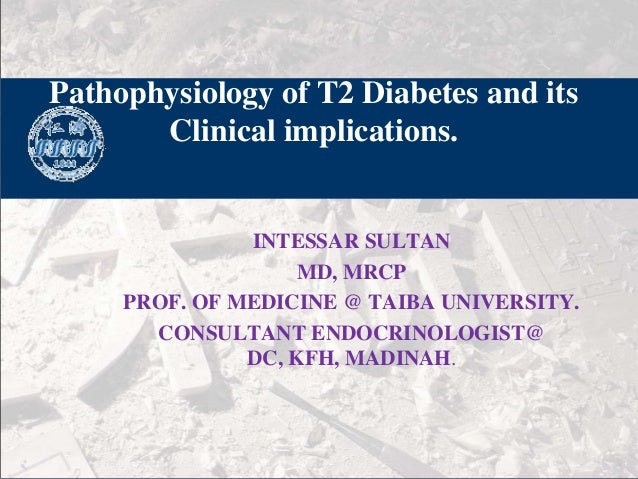 Pathophysiology of diabetes final 2