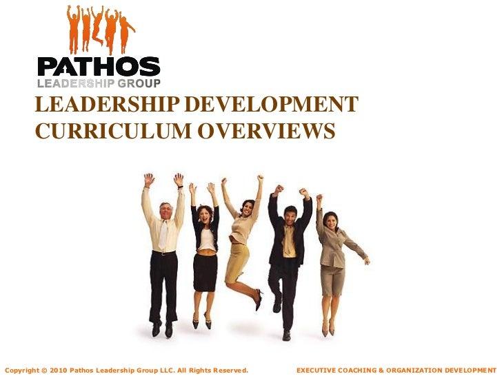 Pathos Organization Development Overview
