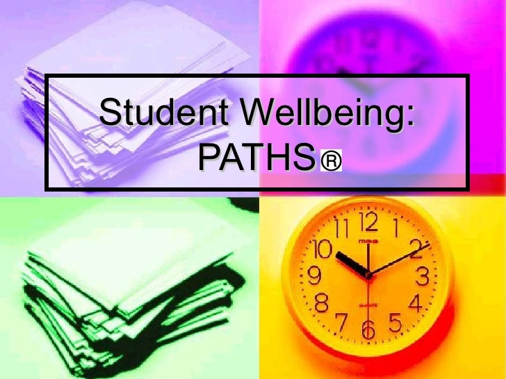 Student Wellbeing: PATHS