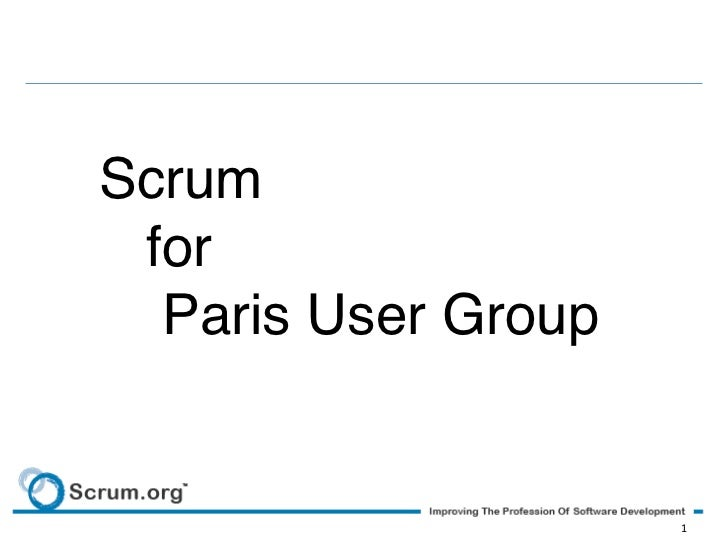 Scrum! for