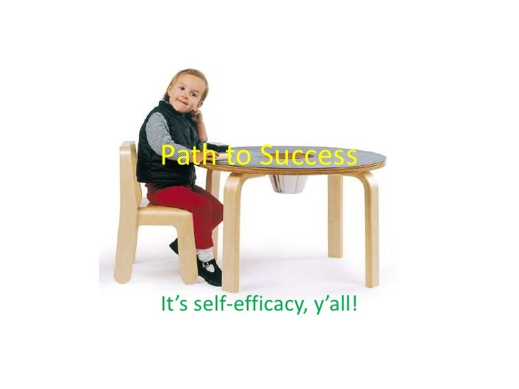 Path to Success<br />It's self-efficacy, y'all!<br />