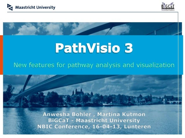 PathVisio 3   NBIC Conference 2013   1