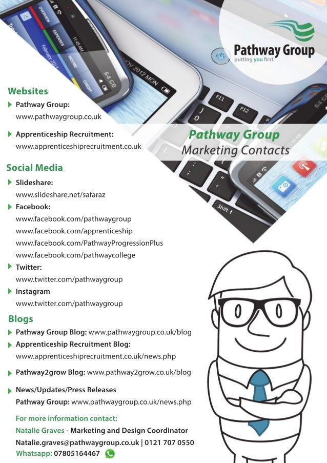 Pathway Group Marketing Contacts / Communications / Press / Media / Updates