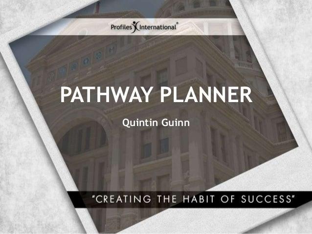 Pathway planner