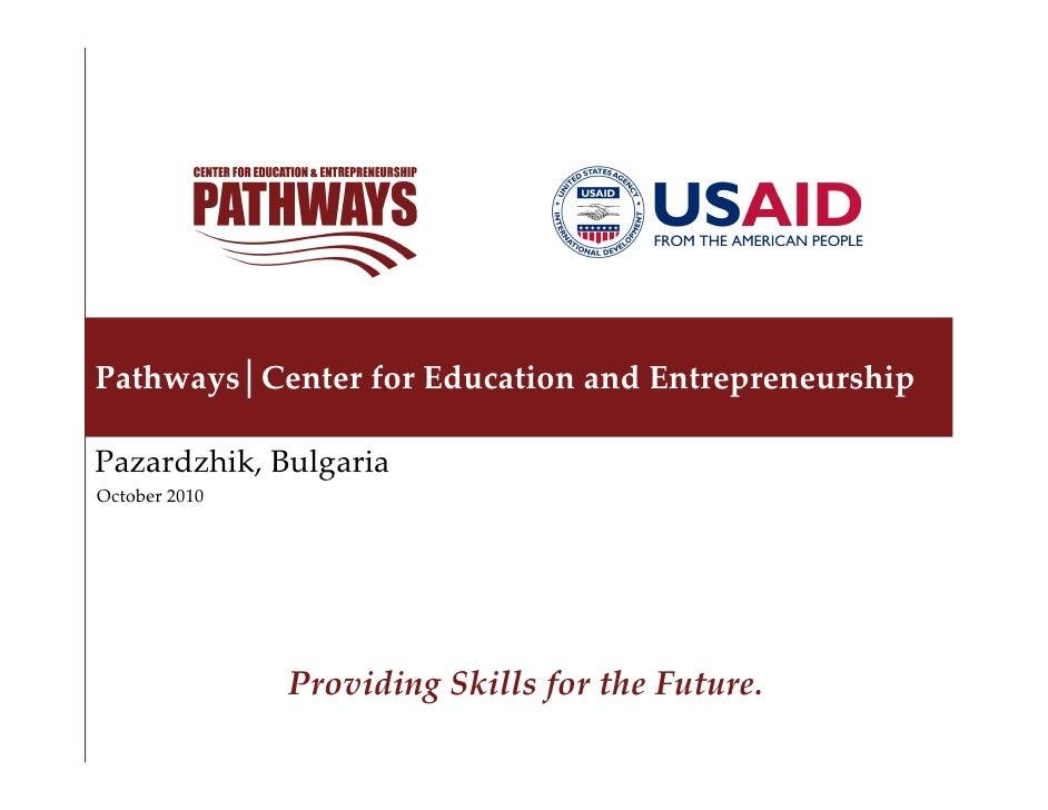 Pathways Center for Education and Entrepreneurship