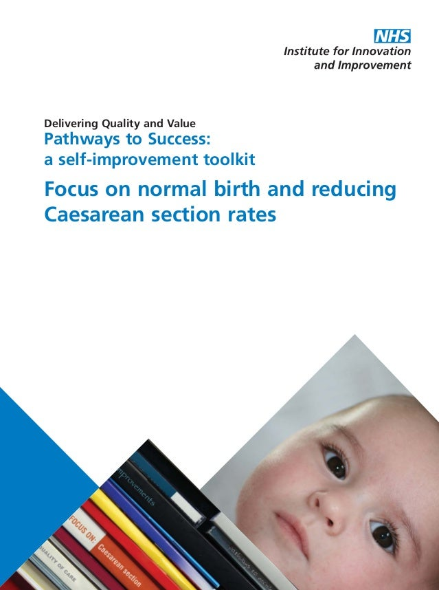 Delivering Quality and Value Pathways to Success: a self-improvement toolkit Focus on normal birth and reducing Caesarean ...