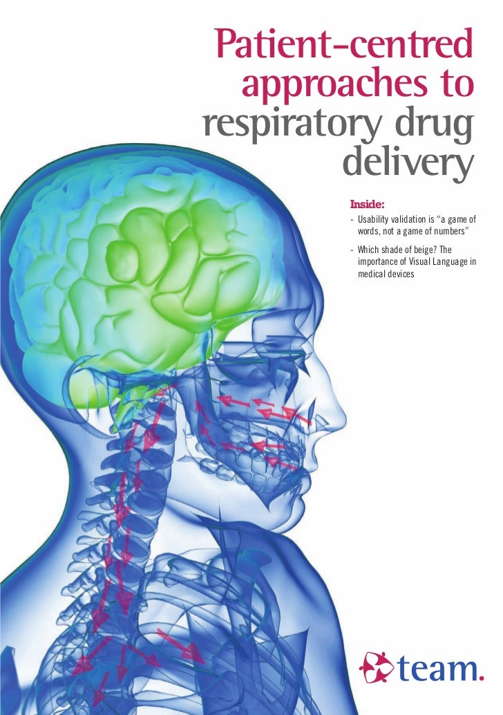 "Patient-centred  approaches torespiratory drug         delivery         Inside:         - Usability validation is ""a game ..."