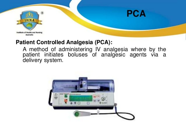 patient controlled epidural analgesia guidelines