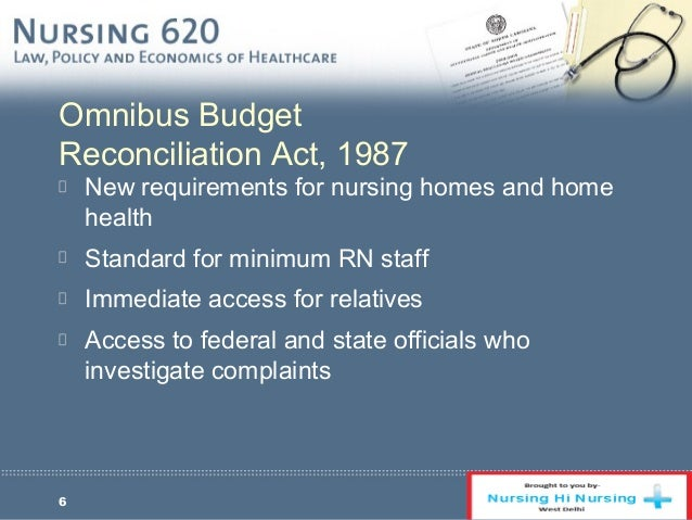 omnibus budget reconciliation act of 1987 essay · under the omnibus budget reconciliation act of 1987, medicare reduced physician fees for 12 procedures identified as overpriced.