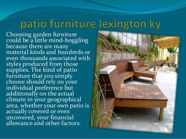 Patio Furniture Lexington Ky