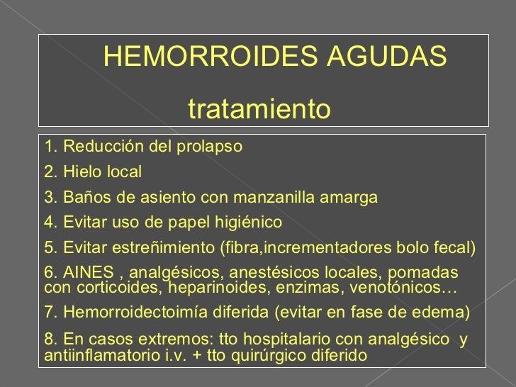 Patolog a anorectal y atenci n primaria - Banos de asiento para hemorroides ...