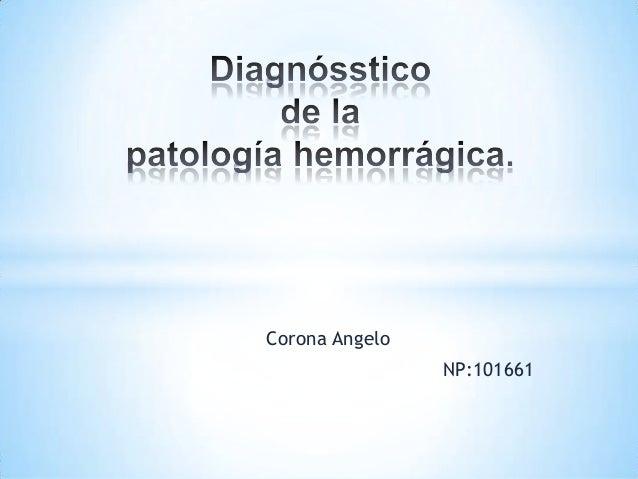 Corona AngeloNP:101661