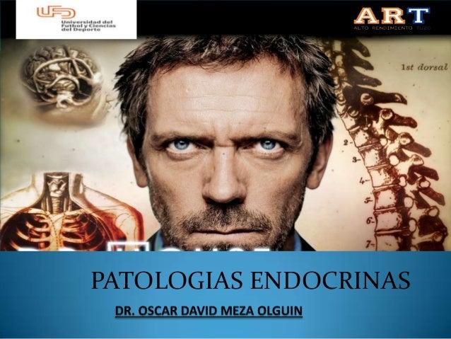 PATOLOGIAS ENDOCRINAS