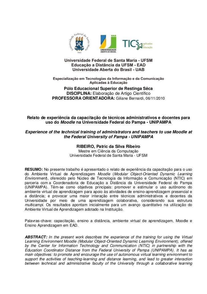 Restinga Sêca - Patric da Silva Ribeiro