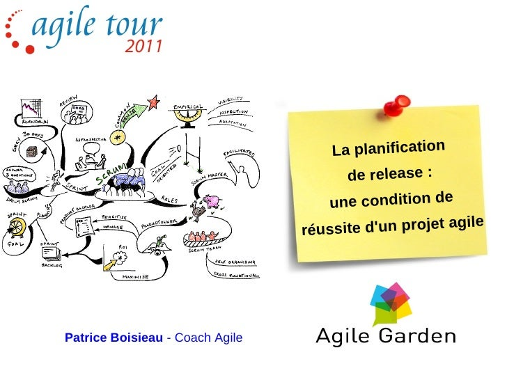 La planification                                       de release :                                    une condition de   ...