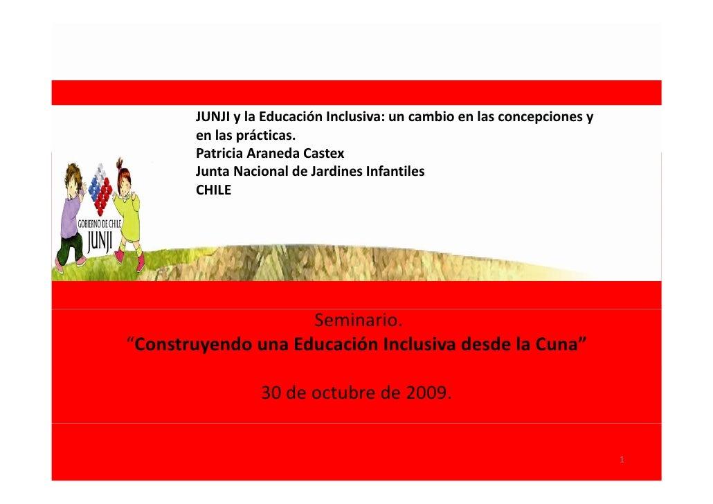 Presentación de Patricia Araneda