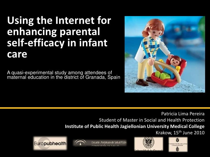 Using the Internet for enhancing parental self-efficacy in infant care<br />A quasi-experimental study among attendees of ...