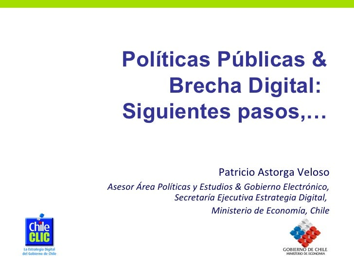 Presentaión Patricio Astorga Estrategia Digital