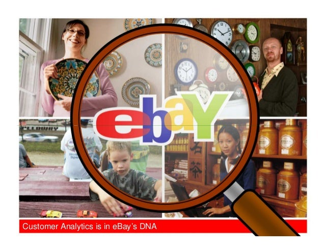 Customer Analytics is in eBay's DNA