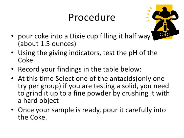 antacid lab Santa monica college chemistry 11 evaluating antacids via a titration page 3 of 3 questions 1 a 2500 ml sample of hydrobromic acid is titrated to the equivalence point using 3194 ml of.