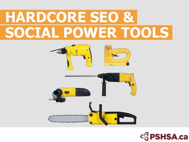 Search and Social Power Tools. SMX Toronto