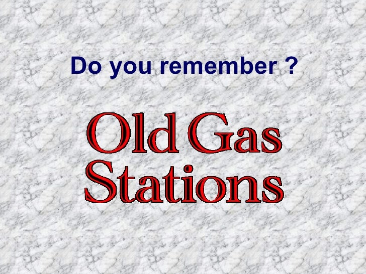 Patrick  Old Gas Station
