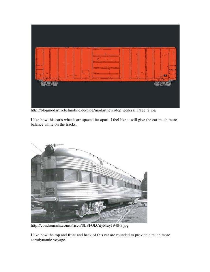 TrainCarResearch