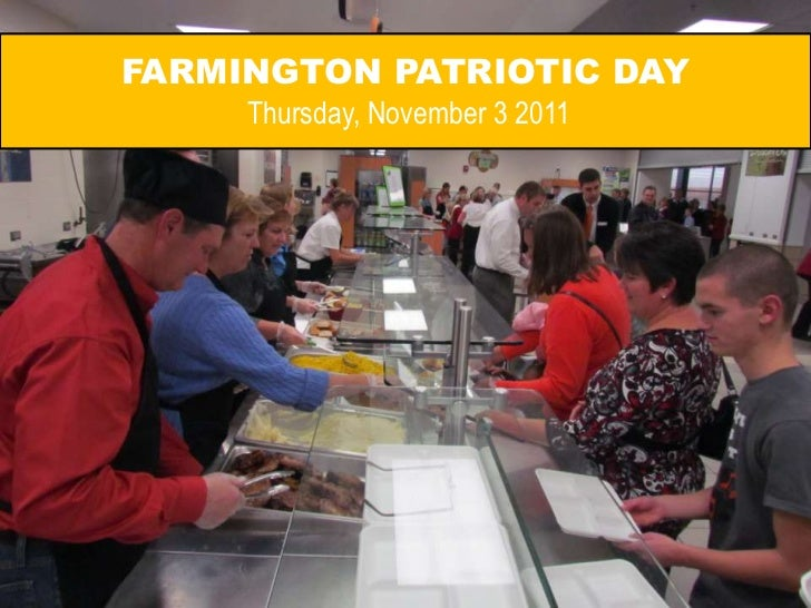 FARMINGTON PATRIOTIC DAY     Thursday, November 3 2011