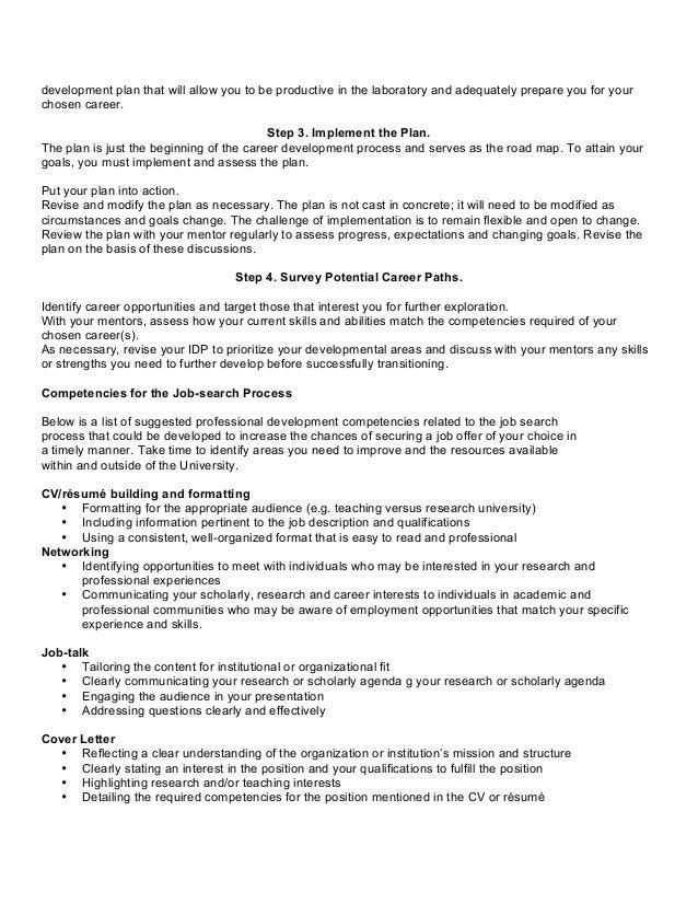 Career Aspiration Sample Essay