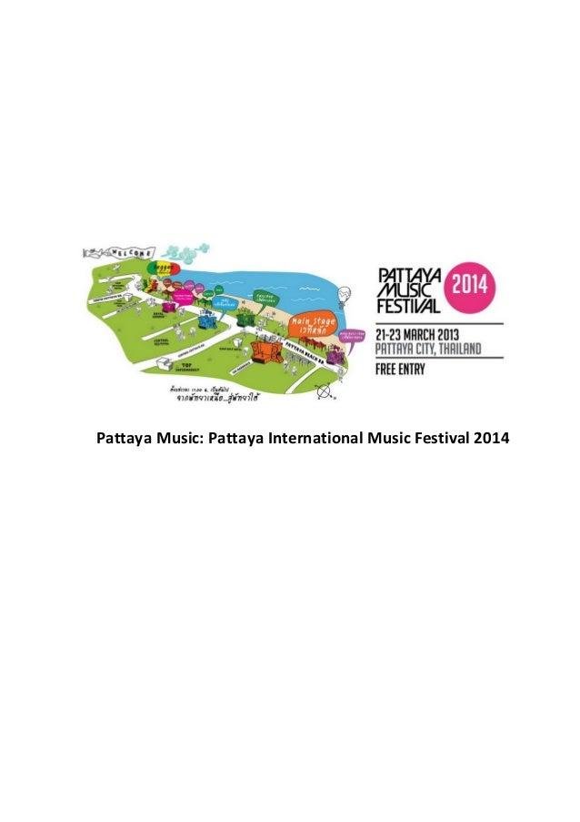 Pattaya Music: Pattaya International Music Festival 2014