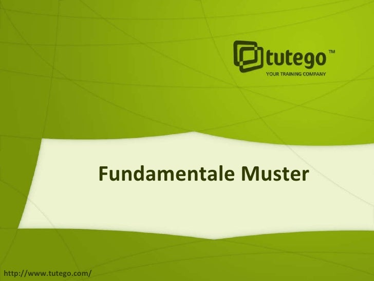 Fundamentale Muster