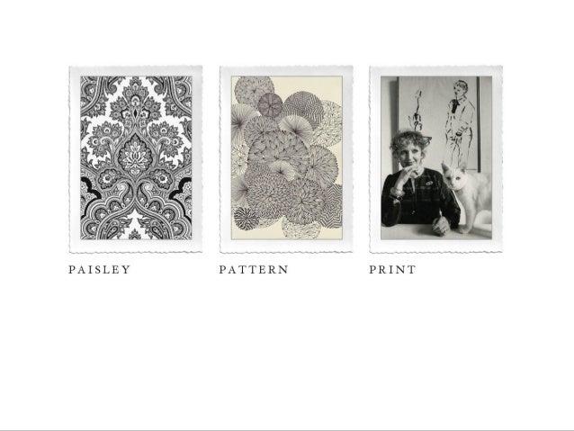 Paisley, Pattern And Print