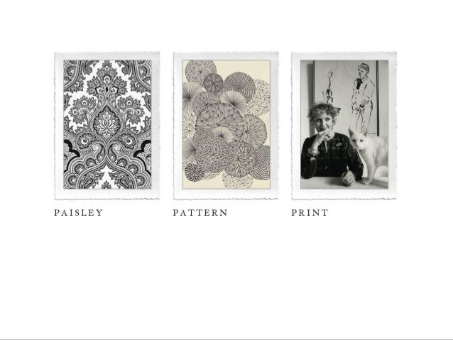 Paisley, Pattern And Print
