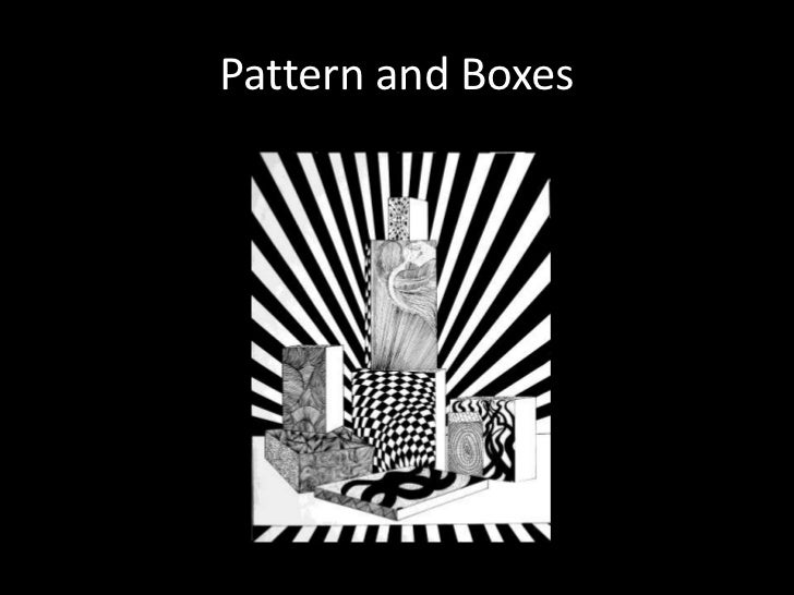 Pattern and Boxes<br />
