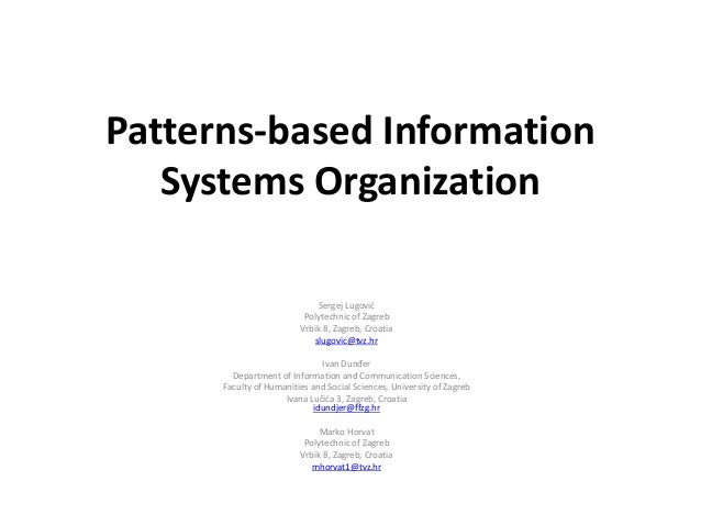 syllabus for information systems in organizations Managing and controlling information systems 141 managing information services in a firm [figure 141a / 141b] the corporate information services (is) department is the unit responsible for providing or coordinating the delivery of computer-based information services in an organization.