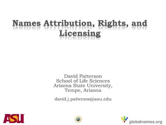 Patterson names