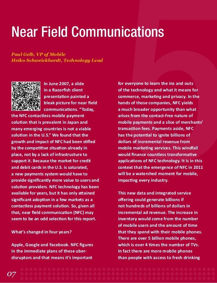 Paul gelb-nfc-pov-the-razorfish5-report-2011