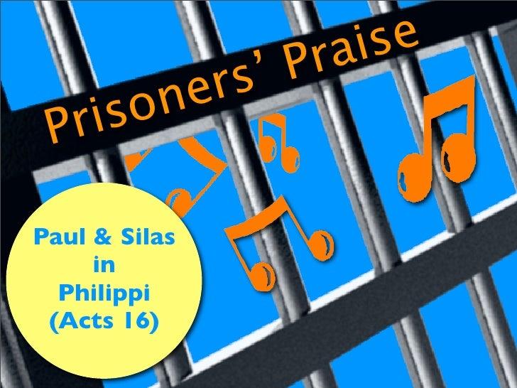 se                      ai                   Pr              s'            r         ne        o     is  Pr  Paul & Silas ...