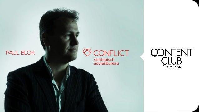 'Verandermanagement voor marketeers' door Paul Blok van Conflict op Content Club-avond #CC04 op 6 maart 2014