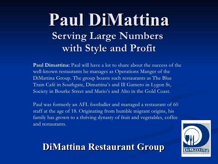 Paul Di Mattina