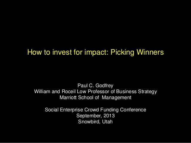 Paul Godfrey Presentation at SECFC13