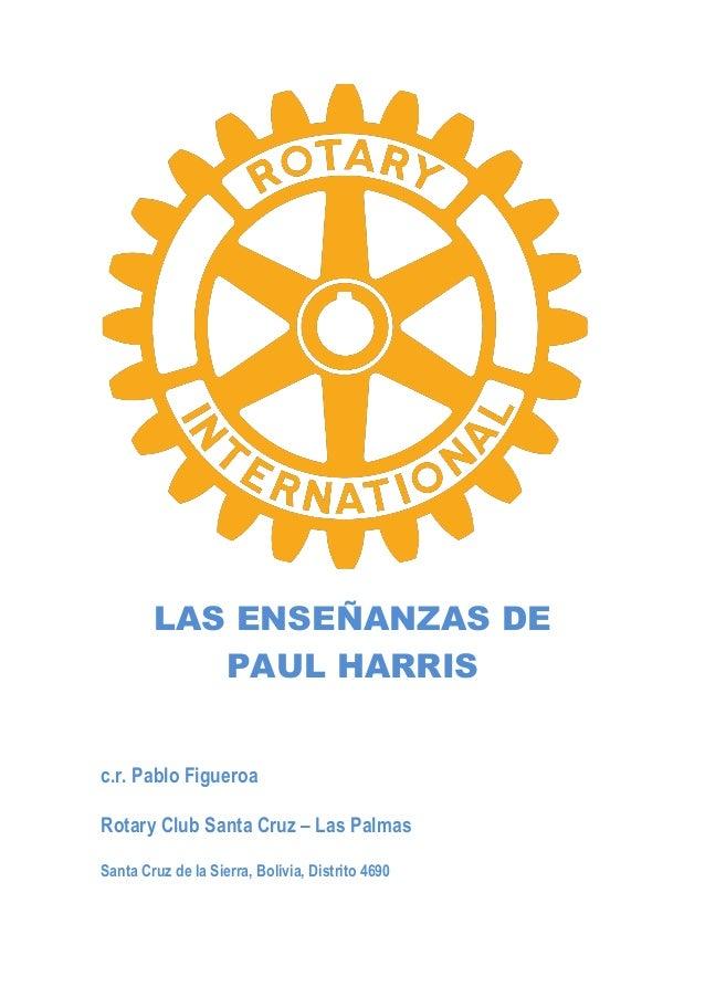Las Enseñanzas de Paul Harris