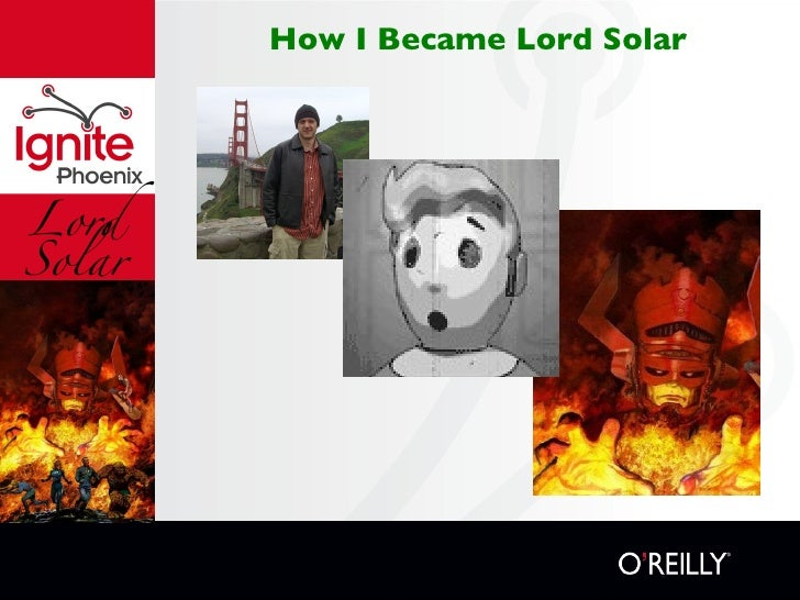 Lord Solar How I Became Lord Solar
