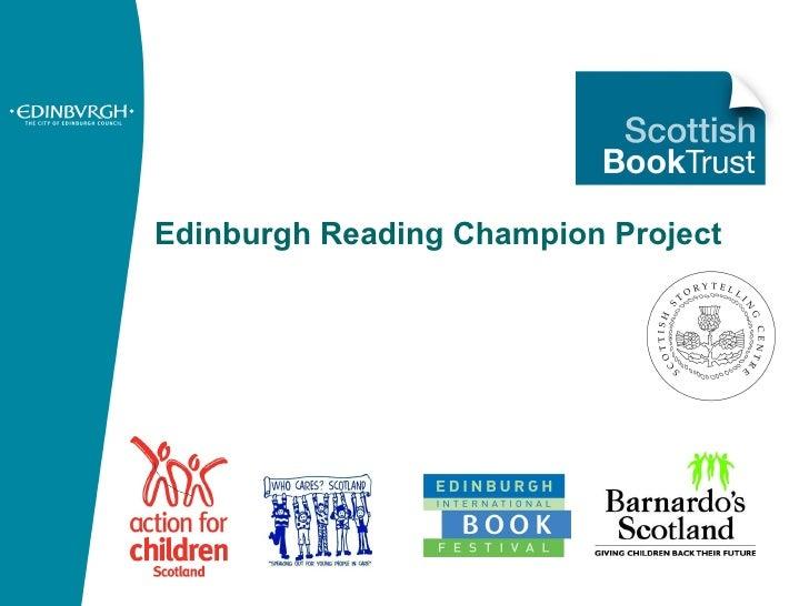 Edinburgh Reading Champion Project